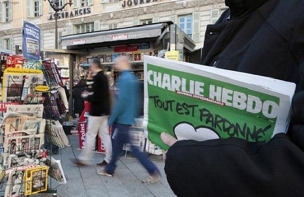 Charlie Hebdo сделал карикатуру на теракты в Брюсселе