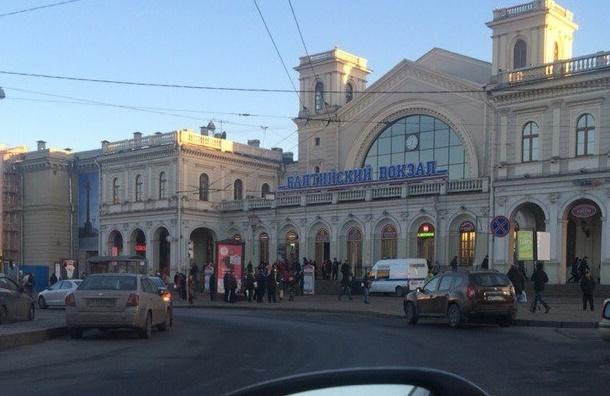 Очевидцы: Балтийский вокзал закрыт из-за подозрения в минировании