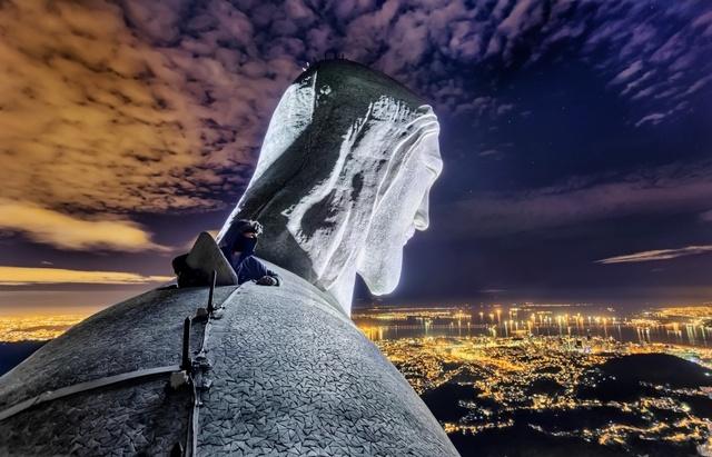 _Статуя Христа Искупителя в Рио-де-Жанейро. Вадим Махоров.