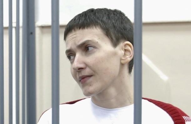 Савченко прекратила сухую голодовку после просьбы Порошенко