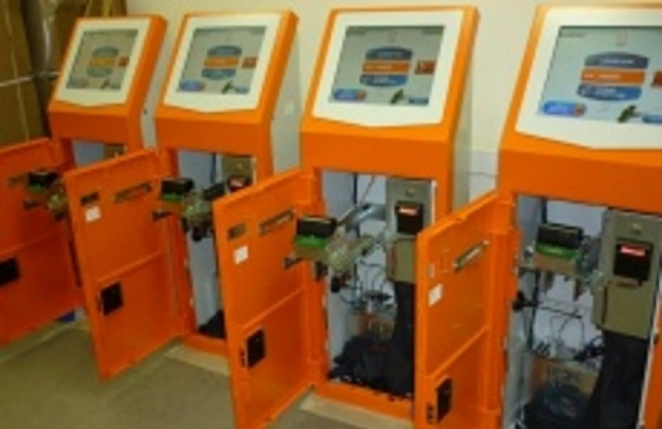 Игровые автоматы, замаскированные под платежные терминалы, нашли в Петербурге