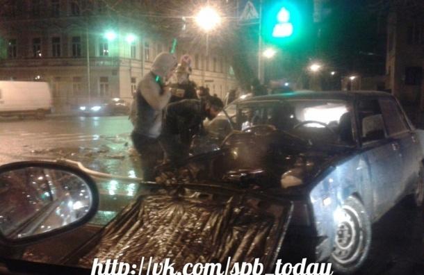 Очевидцы рассказали о страшной аварии у Витебского вокзала