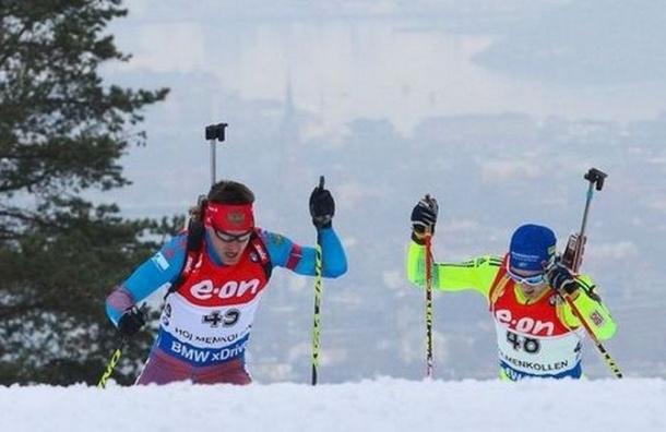 Российские биатлонисты заняли шестое место в эстафете на чемпионате мира в Норвегии