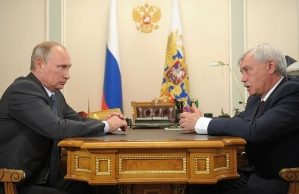 Путин проведет встречу с Полтавченко