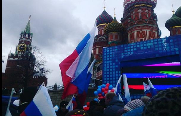 Как Россия отмечает годовщину присоединения Крыма?