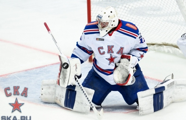 СКА в первой игре финала «Запада» проиграл ЦСКА
