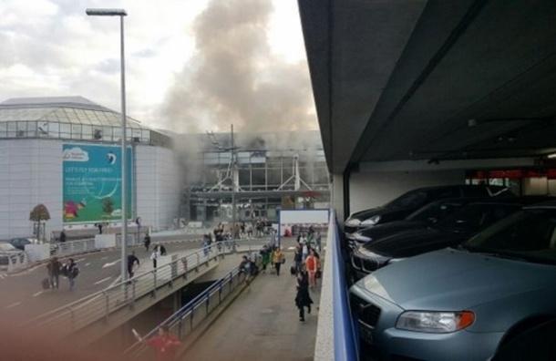 Бельгийская полиция обнаружила три пояса смертников в аэропорту Брюсселя