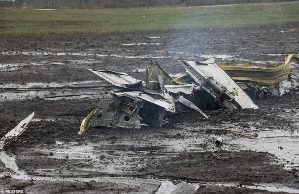 СМИ: начата процедура идентификации останков погибших в авиакатастрофе в Ростове