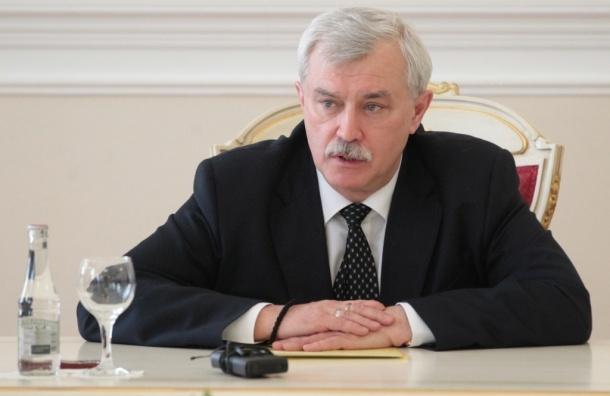 Полтавченко возмущен ростом потребления электричества в Смольном