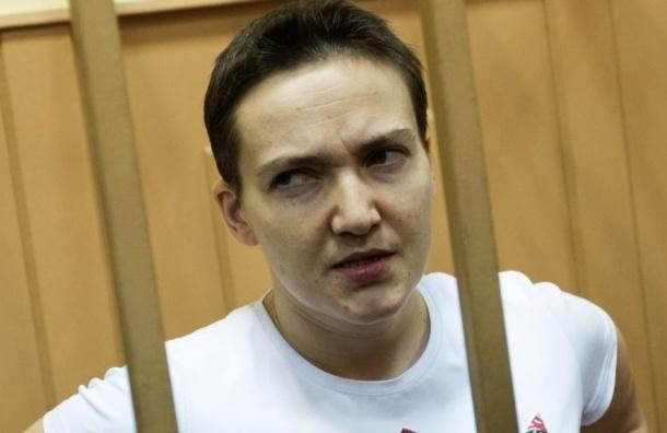 Савченко сорвала оглашение приговора своим пением