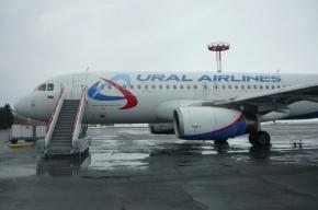 Самолет рейса Оренбург-Петербург выкатился за пределы взлетно-посадочной полосы