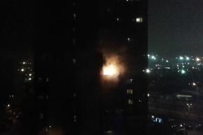 Эвакуированы 30 человек из пожара на Двинской улице