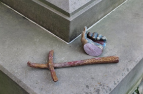 Памятник папе римскому пытались сдать на металлолом во Львовской области