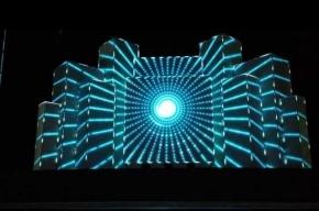 Биржевую площадь перекроют на три вечера ради светового шоу