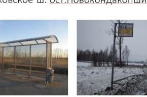 Власти Петербурга просят горожан помочь найти похитителей остановок