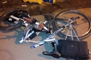 Велосепидист попал под колеса «ГАЗели» на проспекте Обуховской Обороны
