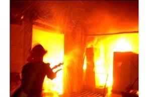 Пожарные тушили квартиру на Ивановской из-за обгоревшей проводки