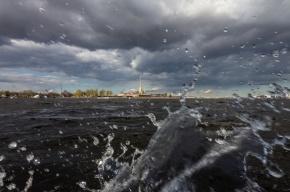 Штормовое предупреждение объявили в Петербурге