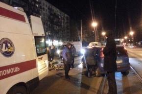 Пешехода сбили на проспекте Науки