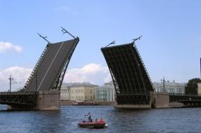 Два моста разведут в Петербурге на этой неделе