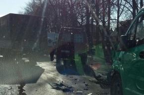 Массовая авария с пострадавшим произошла на Таллинском шоссе