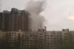 Пожар вновь произошел в недостроенном «Лондон Парке»