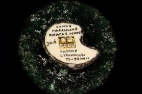 Самую маленькую книгу в мире создали в России
