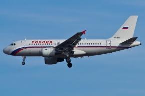 «Аэробус» задымился при полете из Петербурга в Уфу