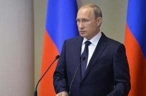 Путин рассказал о поддержке народом репрессивных мер МВД