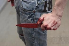 Сотрудник ЧОП чуть не зарезал мужчину в Парголово