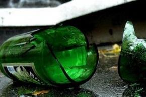 Полицейскому разбили голову бутылкой в Приморском районе