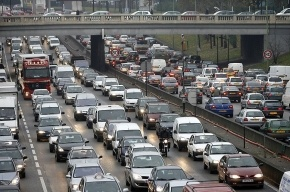 Париж встал в 400-километровых пробках из-за забастовок