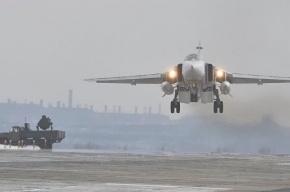 Российская армия атаковала объекты боевиков в районе Пальмиры