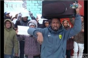 Непереводимый митинг мигрантов прошел в заполярье, требований никто не понял