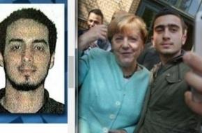 Селфи с террористом: боевик, взорвавший аэропорт Брюсселя, мог быть рядом с Меркель