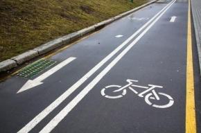 Велодорожек в Петербурге станет на  34,5 км больше