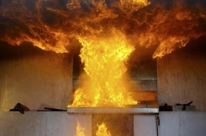 Пять человек спасли из горящей квартиры на Тульской