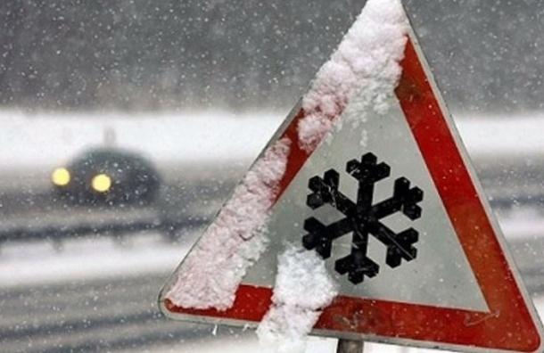 Мокрый снег и гололед обещают в Петербурге в субботу