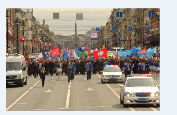 Впервые оппозиции Петербурга отказали в первомайском митинге в центре города