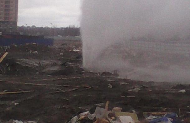 «Главстрой СПб» прокомментировал коммунальную аварию на севере города