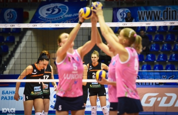 Волейболистки «Динамо» взяли кубок ЕКВ, обыграв «Галатасарай»