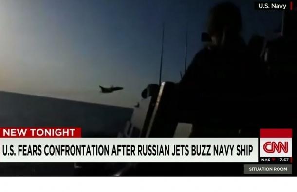Российский СУ-27 перехватил американский самолет над Балтикой