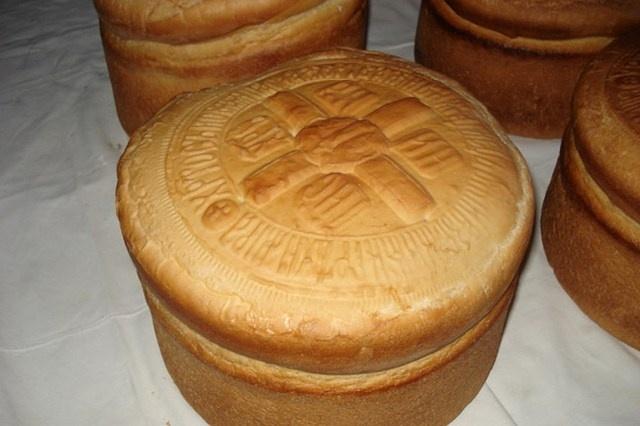 _Пасхальный хлеб Артос