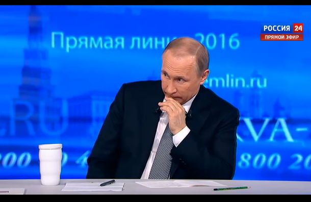 Хабенский спросил Путина про медицину