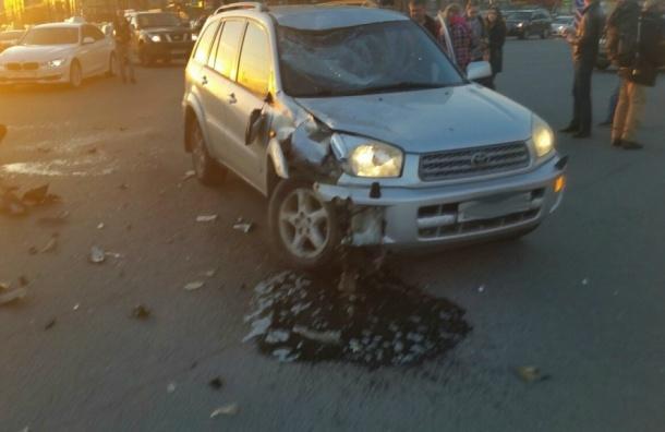 Серьезная авария со скутером произошла на Российском проспекте