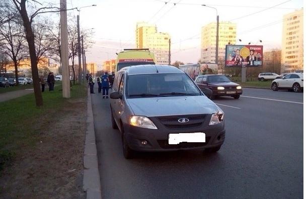 Пешехода сбили насмерть на Ветеранов