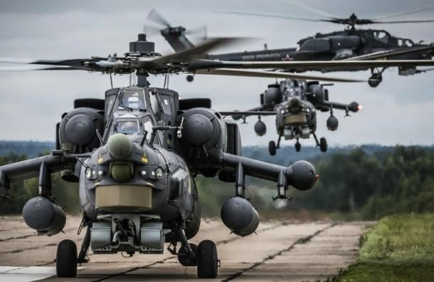 Российский вертолет упал в Сирии, двое летчиков погибли