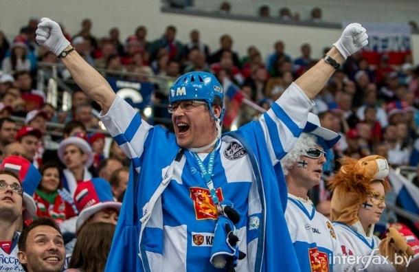 Около 7 тысяч финнов приедут в Петербург на чемпионат мира по хоккею