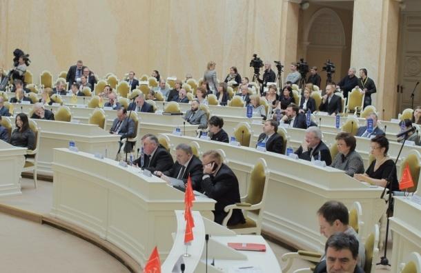 Опубликованы доходы депутатов петербургского парламента