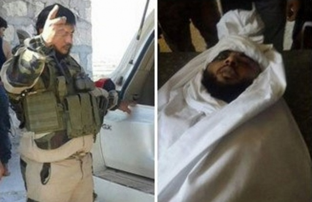 Террориста, который съел сердце мертвого сирийца, убили